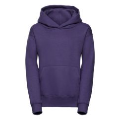 NEWTON PARK PRIMARY SCHOOL PURPLE PULLOVER HOODIE WITH LOGO